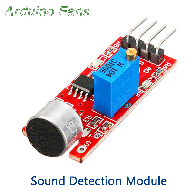High Sensitivity Sound Detection Module Microphone Voice Sensor Module