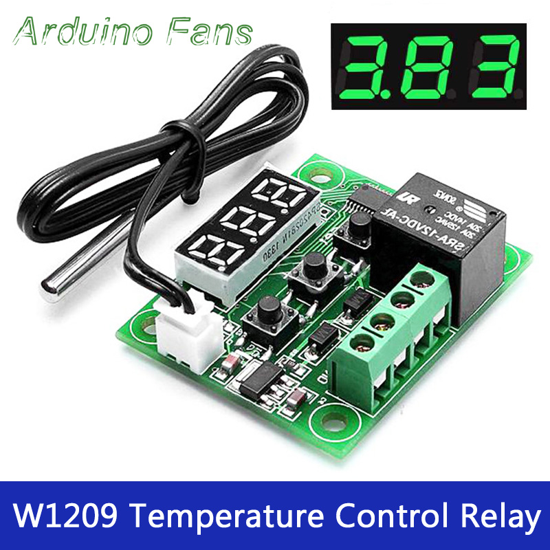 Digital Thermostat Thermometer with NTC Probe Temperature Controller Switch